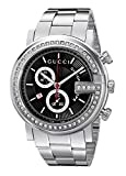 Gucci Men's YA101324 G-Chrono Diamond Case Black Guilloche Dial Watch
