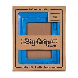 Big Grips Frame for iPad 2, iPad 3, iPad 4 - Blue