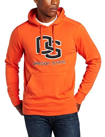NCAA Oregon State Beavers Applique Signature Hoodie Mens by Antigua
