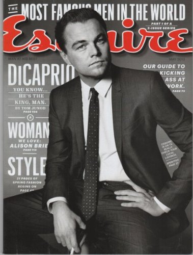 Esquire Magazine (May, 2013) Leonardo DiCaprio Cover PDF