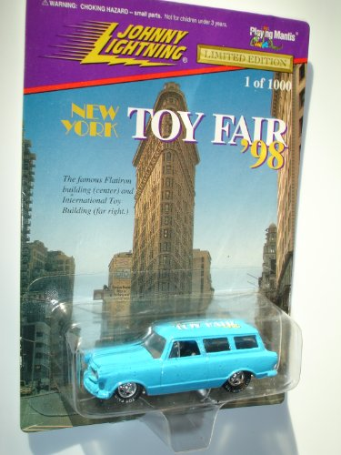 Johnny Lightning 1998 NEW YORK TOY FAIR - 1 of 1,000 Limited Edition - RUMBLUR