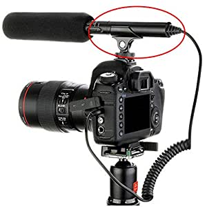 Amazon.com : Foto4easy Hot Shoe Clip Microphone Boom Mic Mount Holder