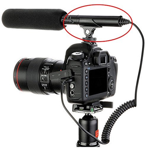 Foto4easy Hot Shoe Clip Microphone Boom Mic Mount Holder for DSLR SLR Camcorder Camera (Black) (Mic Hot Shoe Mount compare prices)