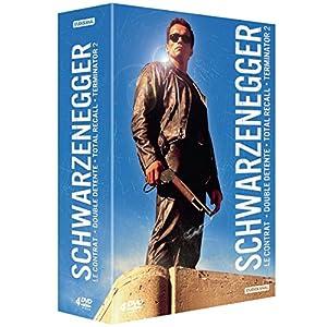 Schwarzenegger - Le contrat + Double détente + Total Recall + Terminator 2