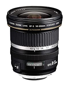 Canon EF-S Objectif à Zoom 10 / 22 mm f/3.5-4.5 USM