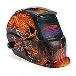 Urparcel Welding Helmet - Flames / Sk...