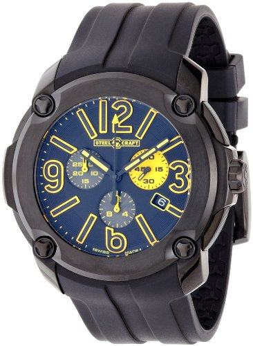 Steelcraft Pulp Analog Black Dial Men's Watch - RGQCC01C00M05.RU01