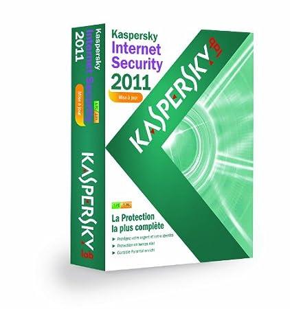Kaspersky Internet Security 2011 - Mise à jour (1 poste / 1 an)