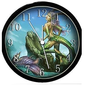glow in the dark wall clock capricorn zodiac