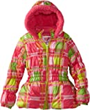 Big Chill Girls 7-16 Super Plaid Puffer Coat
