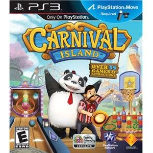 NEW Carnival Island PS3 Move (Videogame Software)