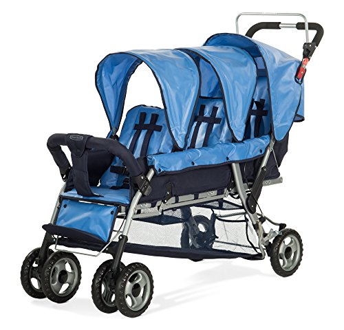 Child Craft Sport Child Stroller, Trio 3, Regatta Blue