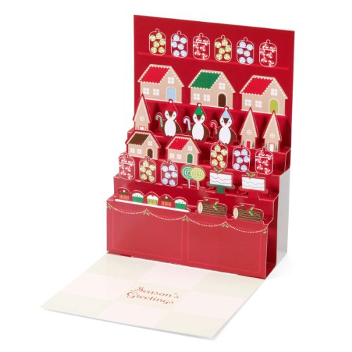 Moma holiday cards stylish modern and arty santas sweet shop pop up boxed holiday christmas greeting cards m4hsunfo