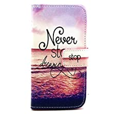 buy Galaxy Alpha Case,Galaxy Alpha Leather Case,Leather Case,Vogue Shop Fashion Pattern Premium Pu Leather Wallet [Stand Feature] [Flip Cover]Type Magnet Design Flip Protective Pouch Skin Case Cover With All-Around Tpu Inner Case And Snap Button Closure Styli