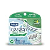 Repuesto de Rasuradora Schick Intuition Naturals Sensitive Care, paquete de 6