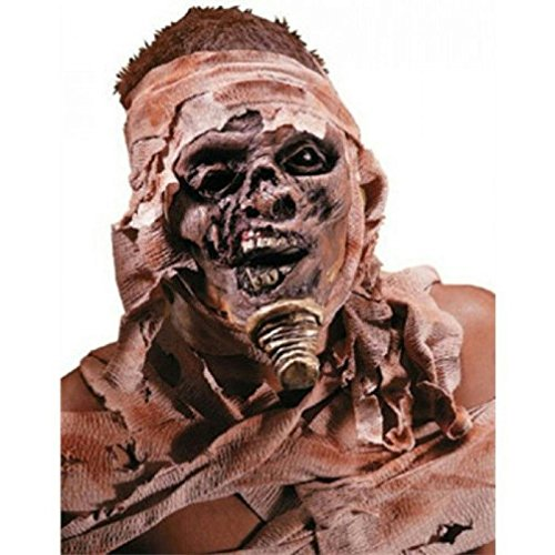[Popcandy Reel FX Egyptian Mummy Latex Prosthetic Appliance Makeup Kit] (Prosthetic Fx Makeup Halloween Masks)