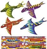 12 Dinosaurier Spielgleitern (12 Dinosaur Gliders)