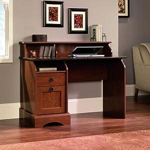 Amazon Com Sauder Graham Hill Desk Autum Maple Finish