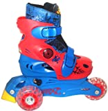Spider Man 2 in 1 Skate Rollerblade Roller-Skate (Red/Blue)