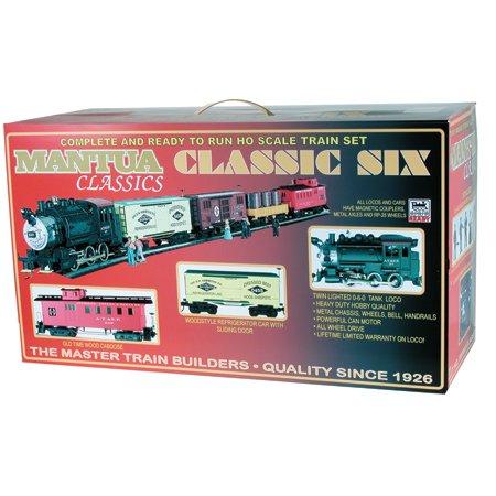 Mantua - Mantua Classic Train Set ATSF HO - 300000