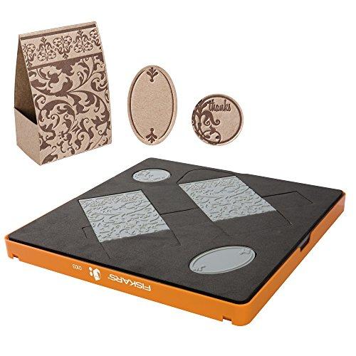 Fiskars Fuse© - Set per la creazione di accessori design in cartoncino, 30 x 30 cm, idea regalo