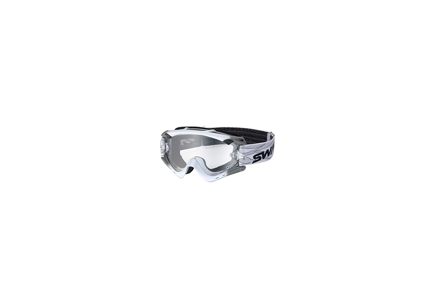 SWANS Yamamoto Optics Dirt Goggles RUSH-Advance White / Grey Clear (HC) the four swans