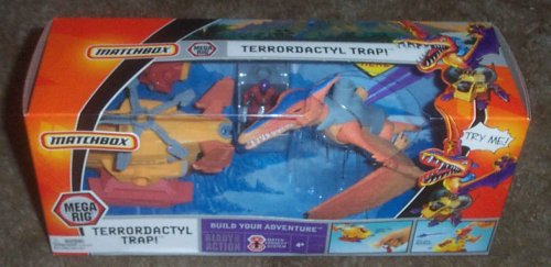 Matchbox Terrordactyl Trap - Buy Matchbox Terrordactyl Trap - Purchase Matchbox Terrordactyl Trap (Matchbox, Toys & Games,Categories,Play Vehicles,Vehicle Playsets)