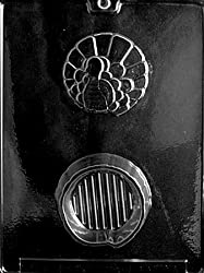 Turkey Pour Box Candy Mold