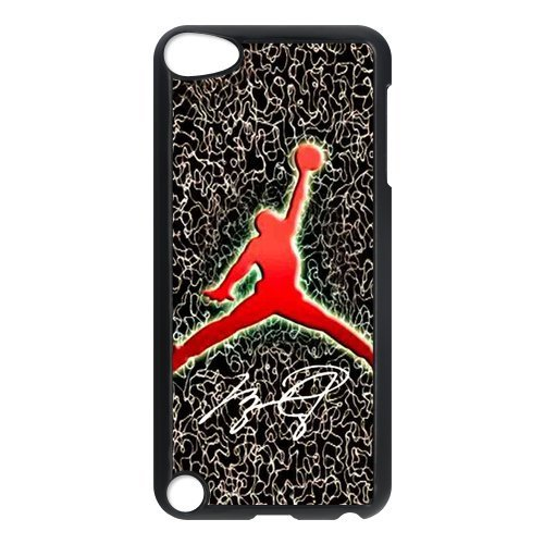 Black/White Sides Classic Style Custom Unique Michael Jordan Design Skin Cover Case for iPod Touch 5th Durable Plastic iPod 5 Case (Jordan Classics compare prices)