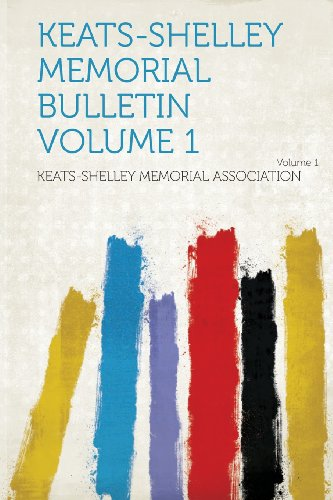 Keats-Shelley Memorial Bulletin Volume 1