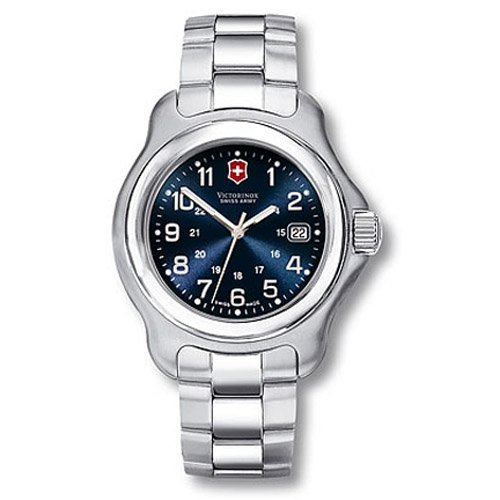 shopping victorinox swiss army men 39 s 24772 officers 1884 watch