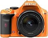 PENTAX デジタル一眼レフカメラ K-x レンズキット オレンジ/ブラック 051