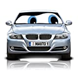 Blue Eyes Double-Sided Car Sunshade