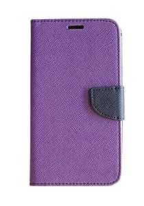 Mobi Fashion Flip Cover For Xiaomi Redmi Note 4G - Purple