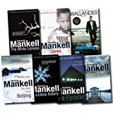 An Inspector Kurt Wallander Mystery Collection Henning Mankell 7 Books Set (Firewall, The Dogs of Riga, The White Lioness, Faceless Killers, The Pyramid, Daniel, The Man From Beijing) Henning Mankell