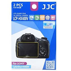 JJC LCP-HX400V Ultra hard polycarbonate LCD Film Screen Protector For Sony HX400 Camera 2Pack