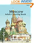 Moscow Coloring Book : Adult Coloring...