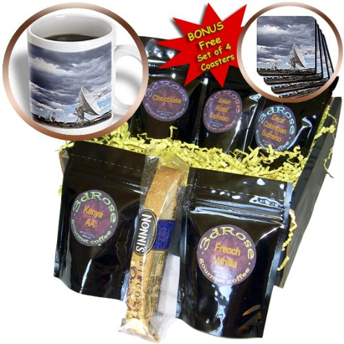 Cgb_92922_1 Danita Delimont - Technology - New Mexico, Radio Telescopes, Vla Radio Observatory - Us32 Pso0001 - Paul Souders - Coffee Gift Baskets - Coffee Gift Basket