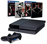 Pack PS4 500 Go + Metal Gear Solid V : The Phantom Pain + Call of Duty : Black Ops III + 2 Steelbook