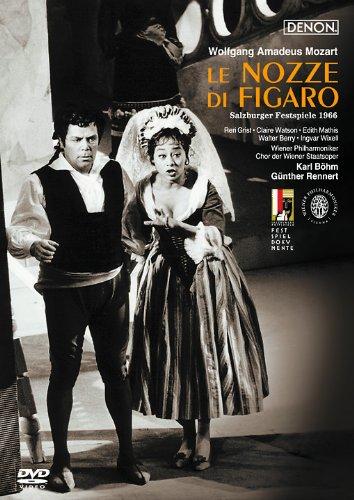 モーツァルト:歌劇《フィガロの結婚》ザルツブルグ音楽祭1966 [DVD]
