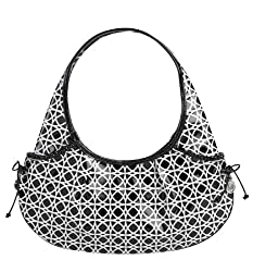 Vera Bradley Frill Collection - Tied Together Hobo Bag - Night & Day