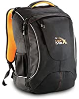 """Cabin Max City V2 Flight Approved Carry on Backpack - massive 44l capacity. Extra padded section for up to a 17"""" Laptop"""