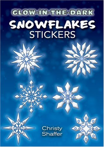Glow-in-the-Dark Snowflakes Stickers (Dover Little Activity Books Stickers) PDF