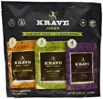 Krave Gourmet Jerky Variety Pack, Bee...