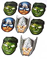 Marvel Avengers Hats/ Masks, 8 Count, Party Supplies by American Greetings