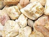 25 KG Zierkies mediteran gelblich Körnung