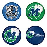 "Dallas Mavericks NBA Round Badge 1.75"" Pinback at Amazon.com"