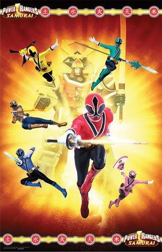 Imagen de Power Rangers Samurai - Mantel de papel Suministros para fiestas [Juguete] [Juguetes]