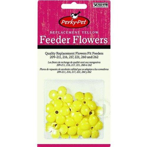Perky Pet #202-F 9PK YEL Feeder Flower