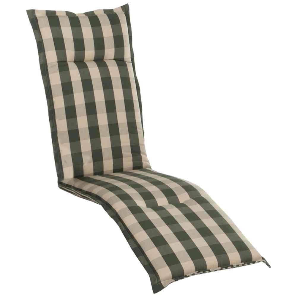 H.G. 5877119 Auflage Dessin Kent für Deckchair, Bezug: 100% Polyacryl Dralon, L 190 x B 46 x H 8 cm